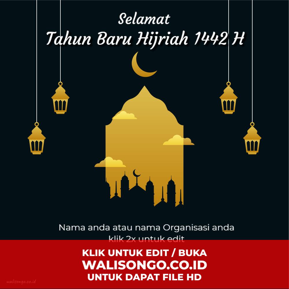 background tahun baru islam 2020