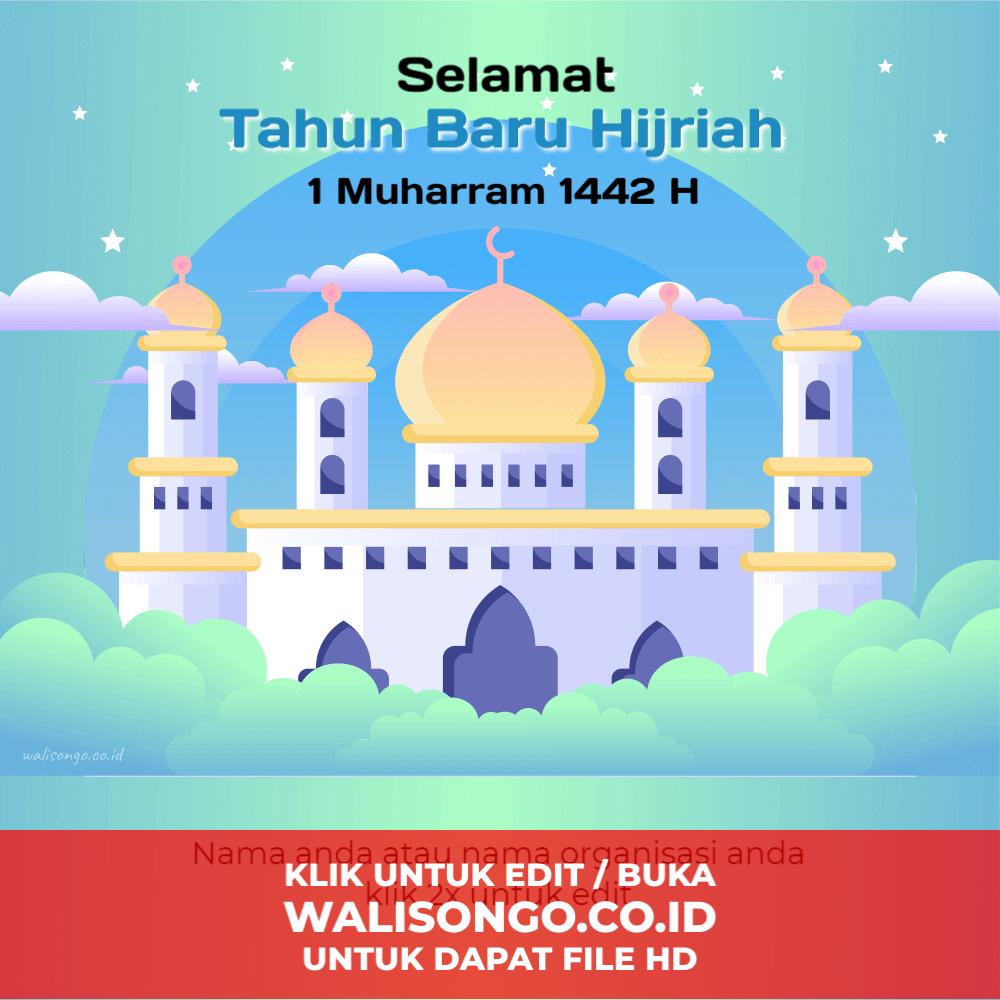 poster tahun baru islam terbaru