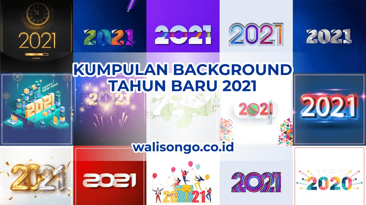 Desain Background Ucapan Tahun Baru 2021, Buat Kartu Ucapan Lebih Meriah!