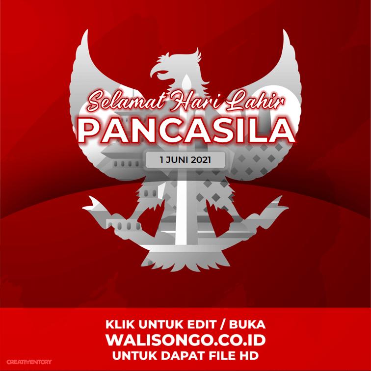 background hari pancasila