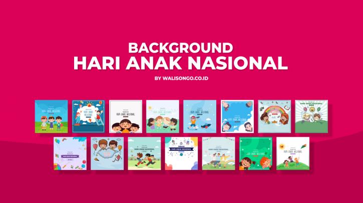 Background Hari Anak Nasional